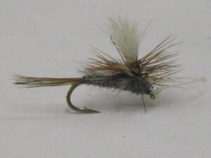 Parachute adams dry fly for trout