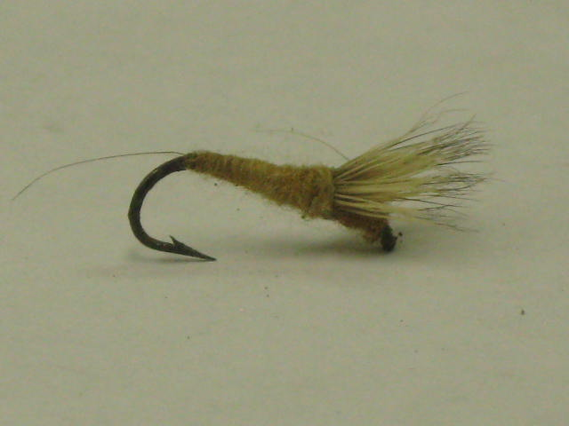 Light cahill trout dry fly
