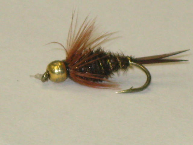 The prince Nymph trout fly
