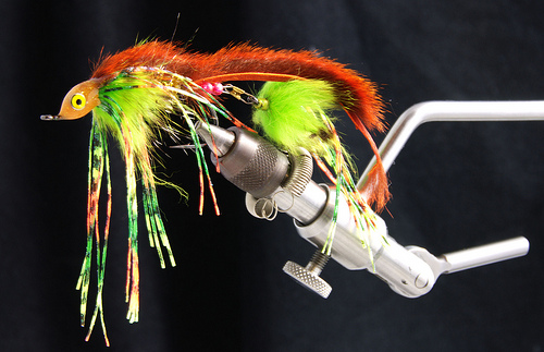 streamer fly for brown trout