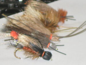A selection of Many Different Salmon fly stone fly patterns