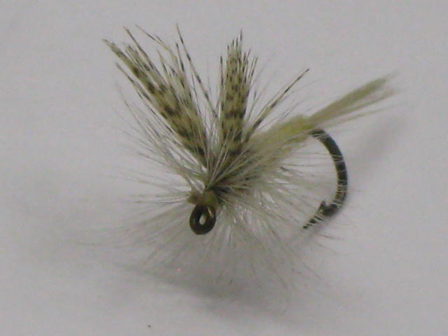 The light hendrckson fly pattern