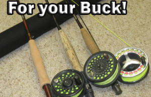 Best fly rods for the money. Redington tempt, Redington Pursuit, and Temple Fork outfitters Lefty Kreh.