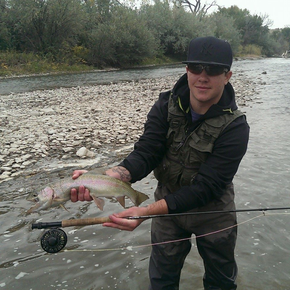 Charles Solano Nice Rainbow Trout