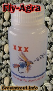 Fly-agra Fly floatant. One of the best fly fishing floatants available