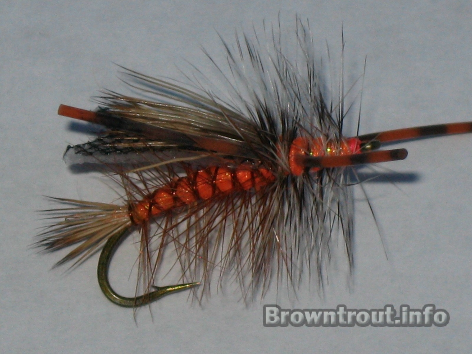 The stimulator chewtoy side view image, this is a great all around fly.