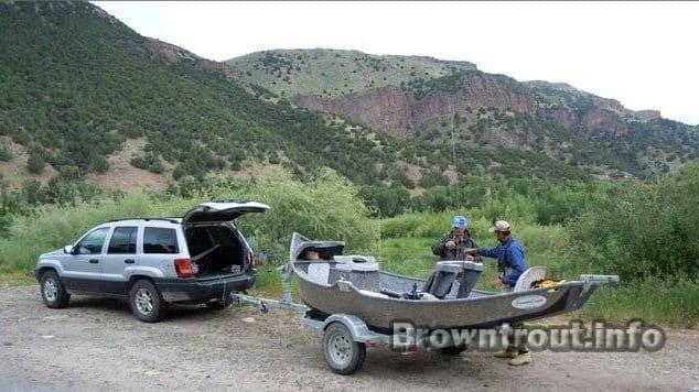 Drift Boat, the best fly fishing boat