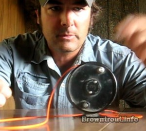 How to Setup a Fly Reel, how to set up a fly rod, fly reel setup, how to spool a fly reel, how to attach fly line to backing, how to rig a fly rod, how to put line on a fly reel, fly line setup