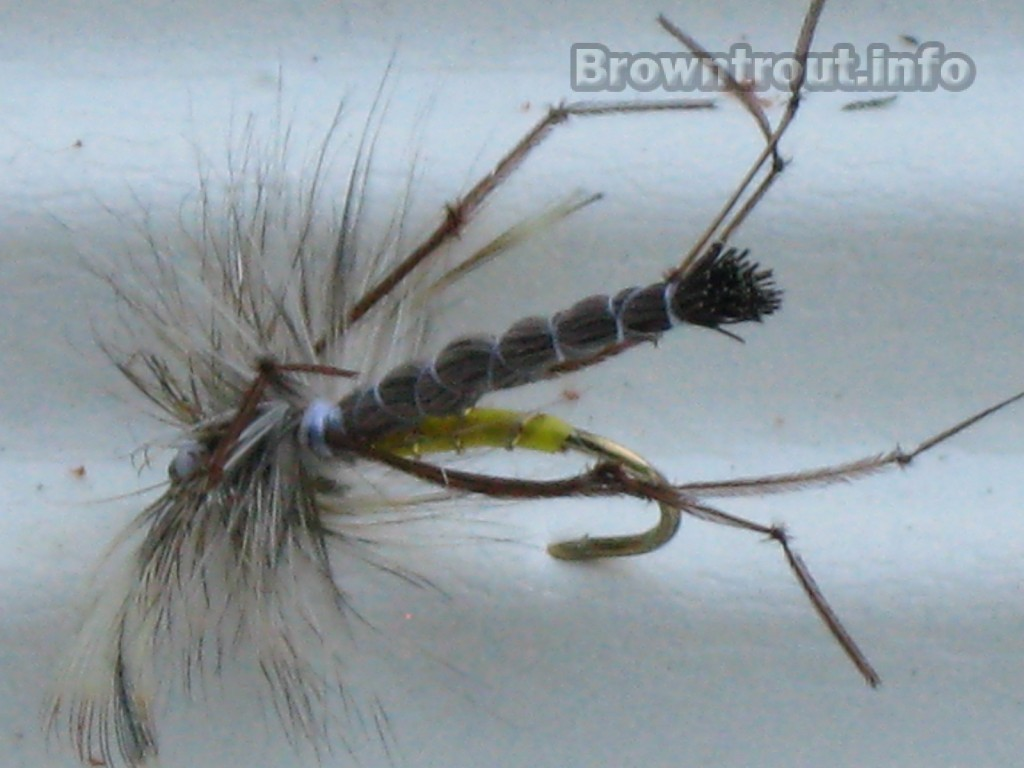 Crane Fly Trout Pattern