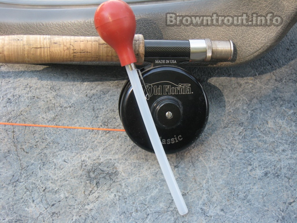 Trout stomach pump, trout fishing tips for fly fishing
