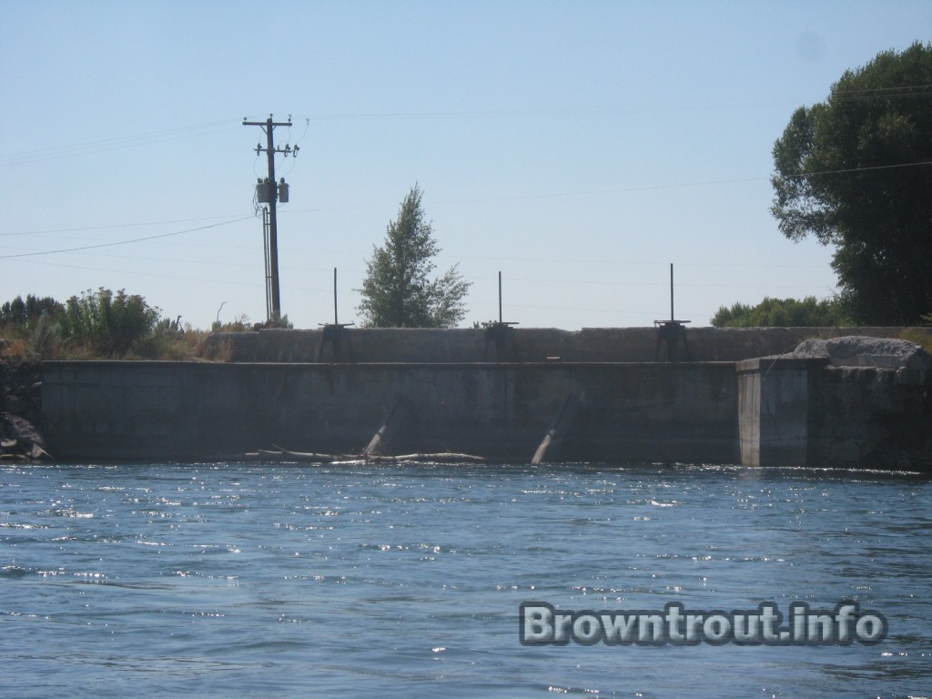 Diversion Canal/channel on the south for of the snake river, Idaho