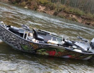 Custom Stealthcraft Drift Boat