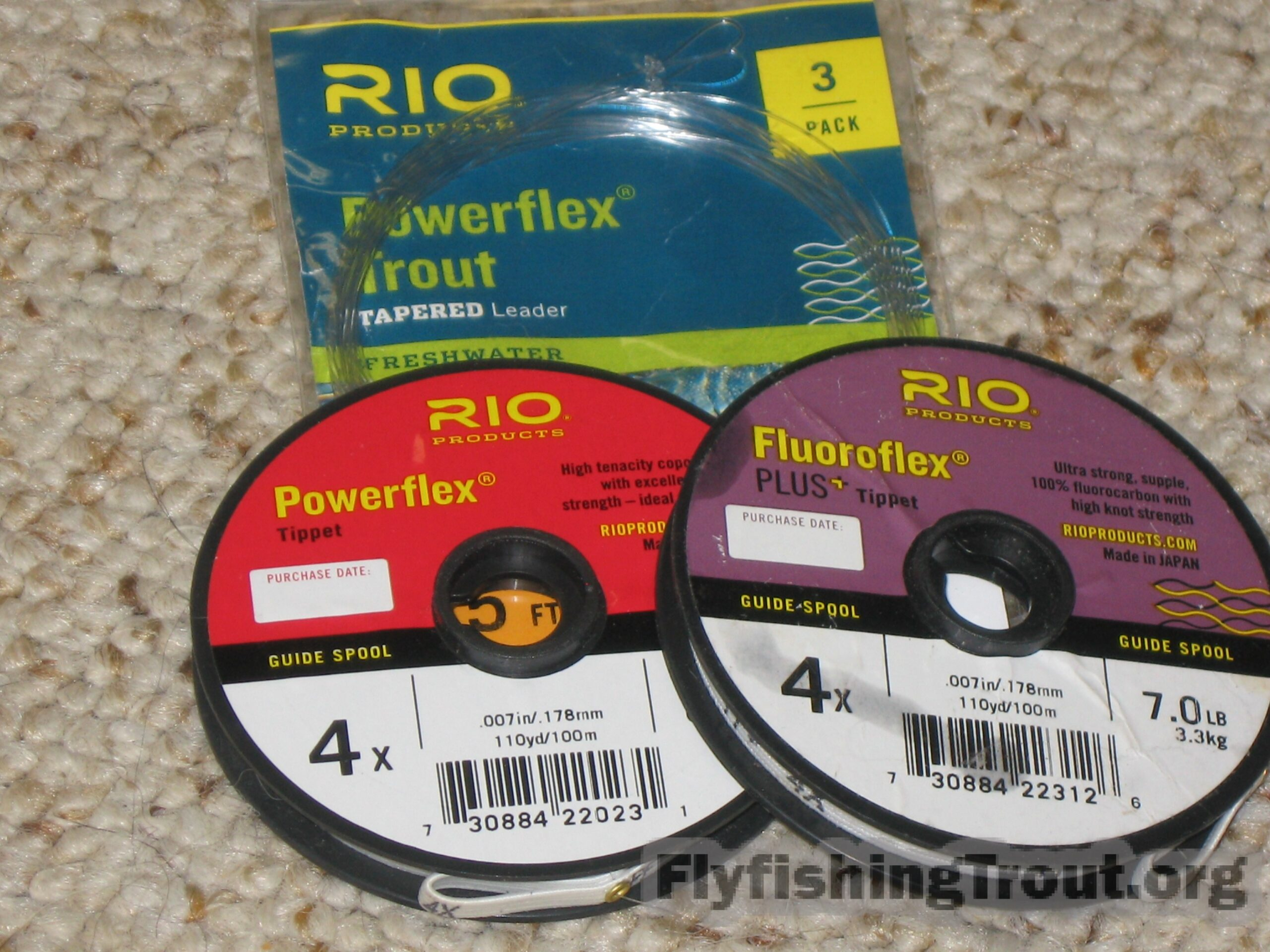 Flourocarbon and monofilament leaders