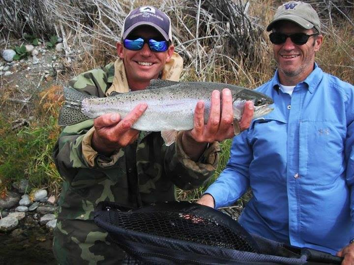 Double O Dave on the Madison with guide Charlie Rock