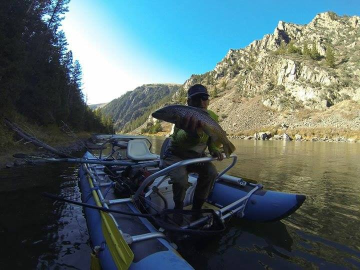 ronnie burnett brown town in the beartrap cannon madison river montana