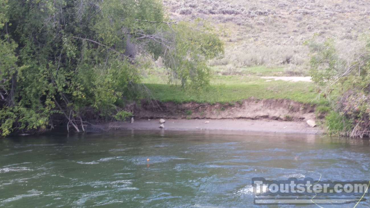 Wolverine boat launch on the South Fork of the Snake river, snake river boat launches, snake river boat launch map
