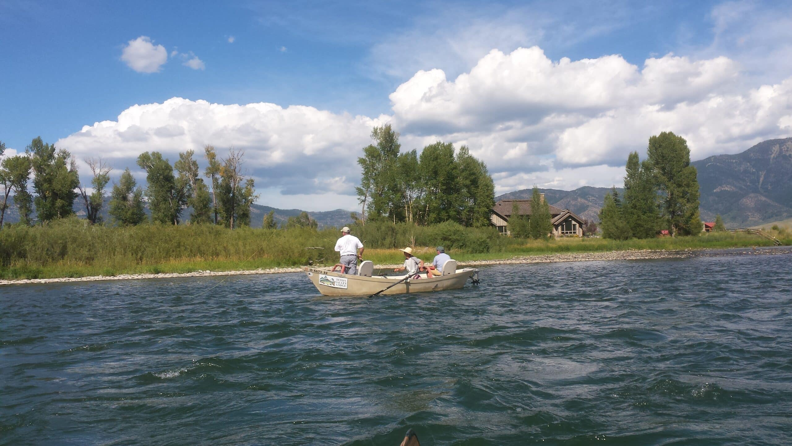Guiding on the Snake river in Idaho