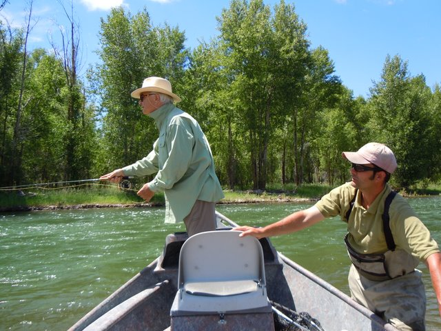 Fly fishing clothing choices