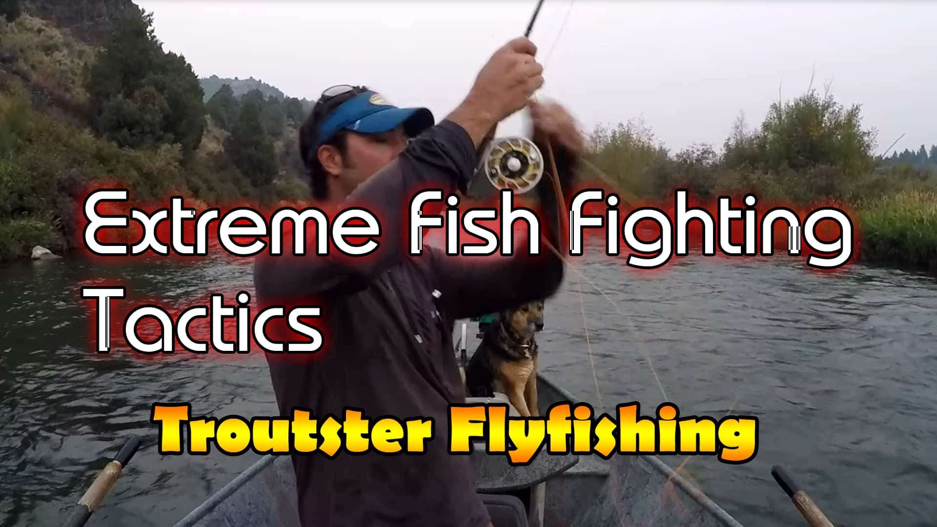 How to fight fish with a flyrod