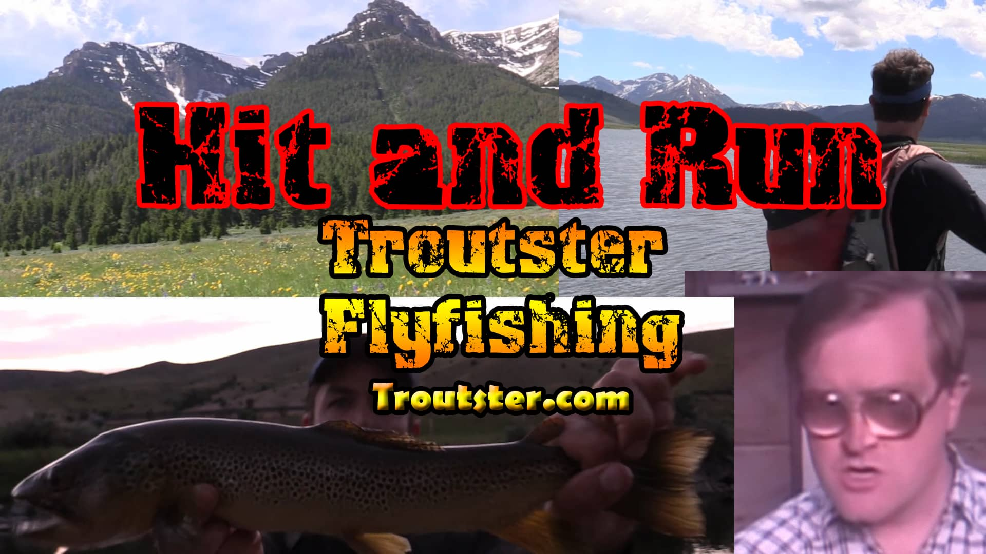 Fly fishing in Montana - Great trout fishing in the rockies