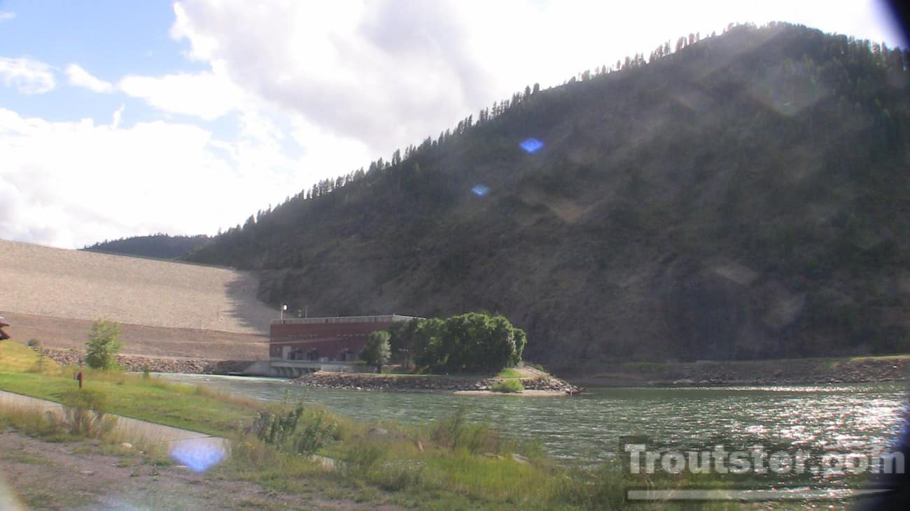 Paliades dam on the south fork of the snake river, snake river boat launches, snake river boat launch map