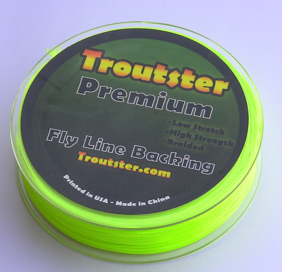 Troutster fly line backing