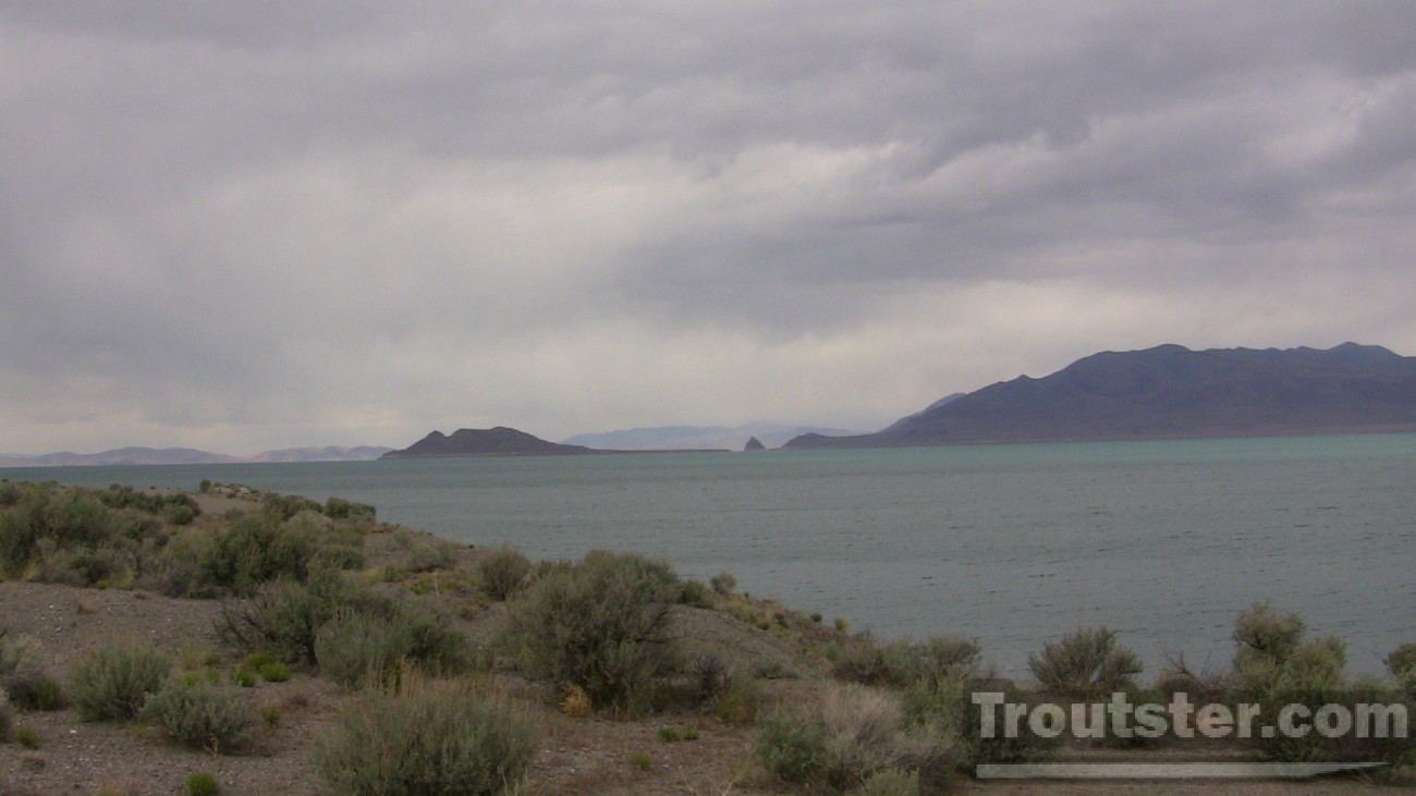 Pyramid lake NV