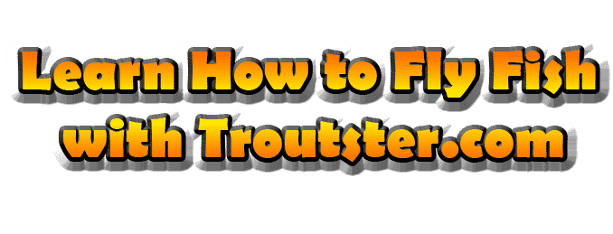 Learn how to fly fish with troutster.com