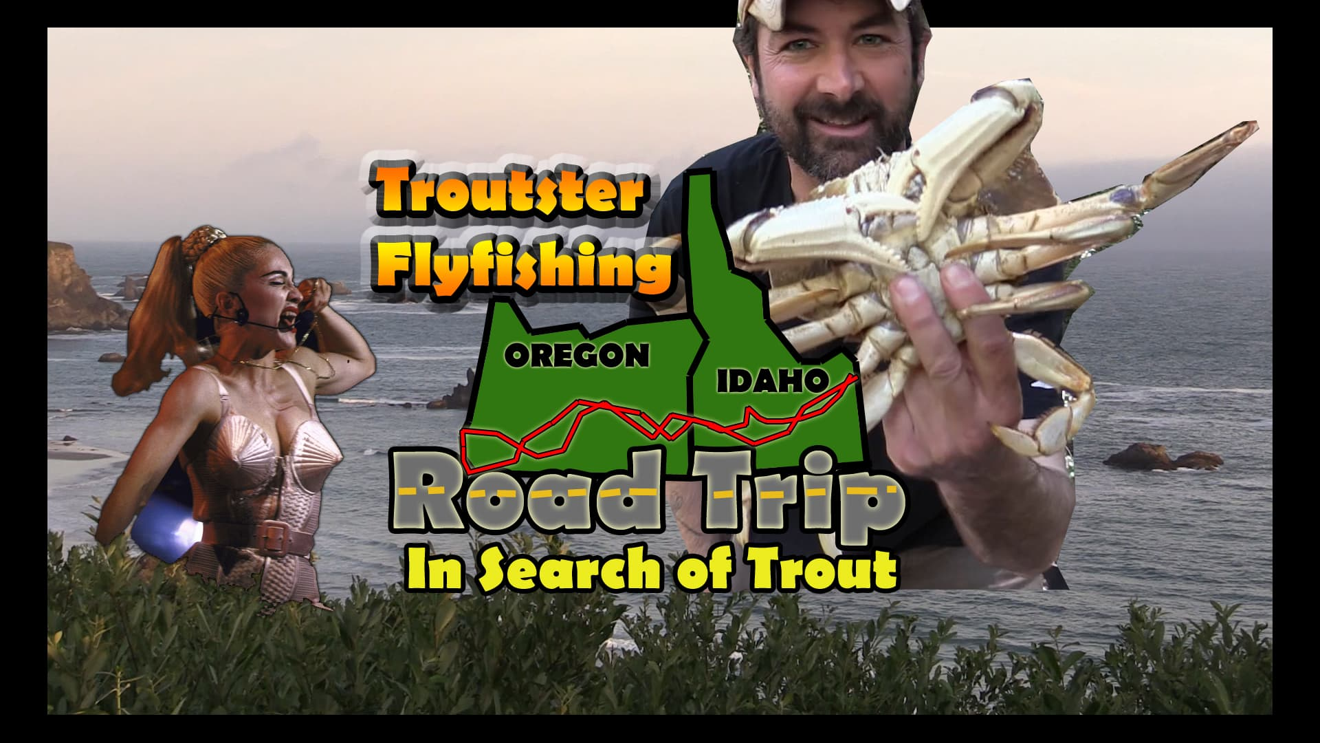 Road trip through oregon and idaho in search of trout.