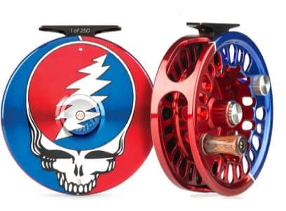 Steal your face grateful dead fly fishing reel