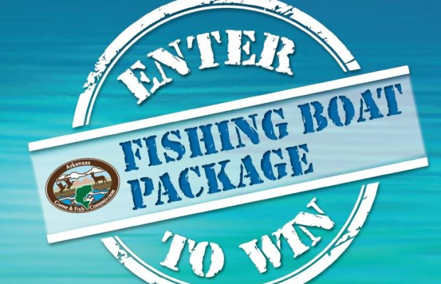 Win a fishing boat by catching a tagged trout