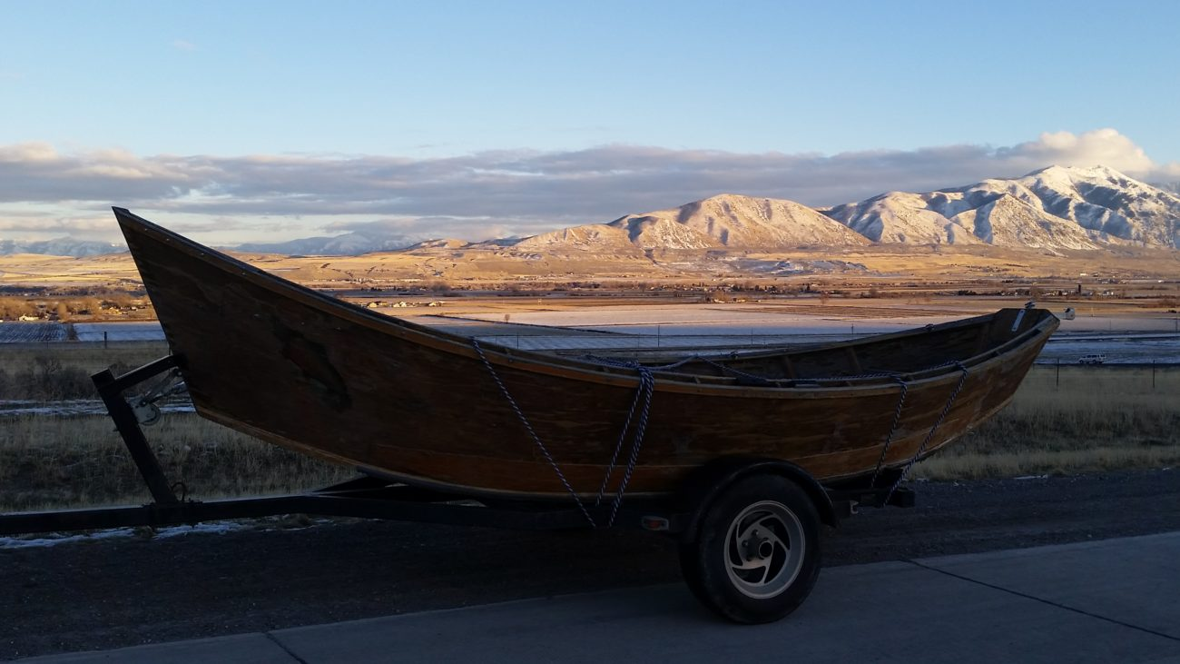 Wooden driftboat - My new fixer upper project.