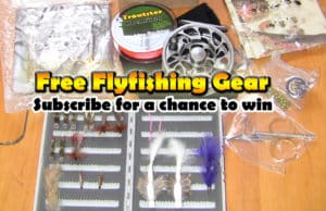 free fly fishing gear giveaway drawing