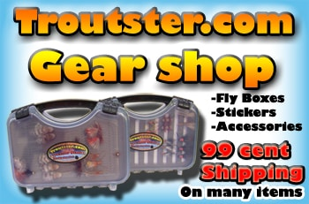 Troutster fly fishing gear shop